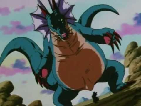 Dragonball GT - Goku and Pan vs. Naturon Shenlong (7 Stars Dragon) Part 1