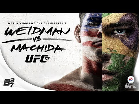 UFC 175 Weidman vs Machida! Full Fight | EA SPORTS UFC