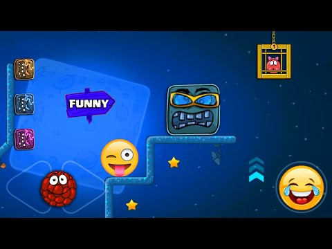 """RED BALL 4 - Raspberry Ball """"FUNNY SUPERSPEED"""" Gameplay in Volume 4 with Boss Fight"""