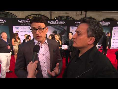 Captain America 2 Premiere Anthony & Joe Russo