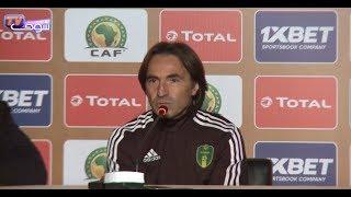 بالفيديو..مدرب المنتخب الموريتاني يراهن على الفوز بكأس الشان |