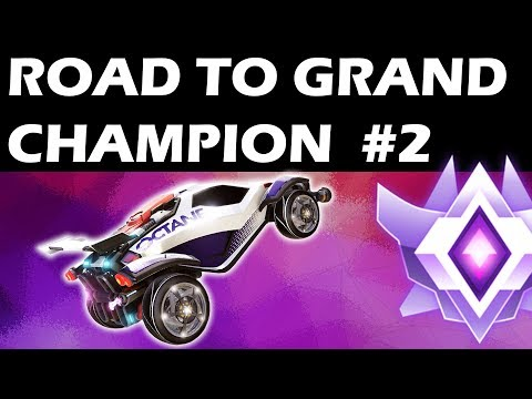 ROAD TO GRAND CHAMPION #2 - Best Goals & Saves (Rocket League - LUCHOPEZ)