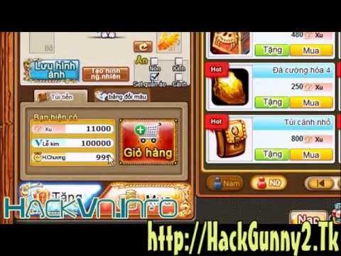 Hack Xu Gunny 2 - Hack Lể Kim Gunny 2 - Bug Xu - Huân Chương Gunny 2 - Hack Đá Cường Hóa
