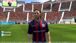 FIFA 14 Full Game Faces : CA San Lorenzo De Almagro