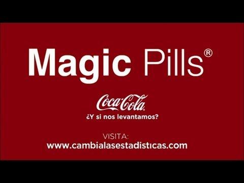 Nuevo Spot Coca-Cola - Magic Pills, la solución contra la obesidad