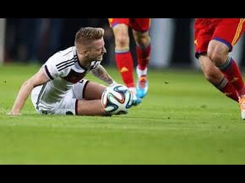 Marco Reus vs Armenia (H) 13-14 - Horror injury - HD