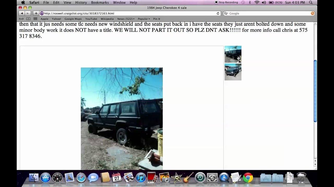 Roswell Cars Craigslist