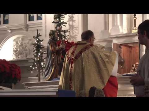 Holy Angels Christmas Eve Mass 12-24-10