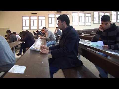 """طلبة ريفيون يصورون فيلما بعنوان """"الطالب المنحوس"""" بوجدة"""