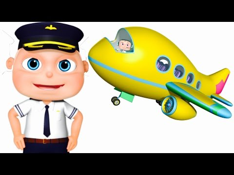 Five Little Babies Flying Airplane | Zool Babies Fun Songs | Five Little Babies Collection