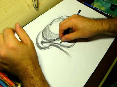 Scuola di disegno 1 school of drawing one youtube for Disegni tridimensionali facili