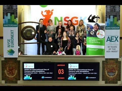 NSGK sounds gong on United Nations' International Day of Persons with Disabilities