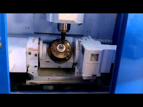 TJR CNC tilting rotary table (5 axis) - dual-arm type FAR125