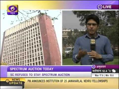 TELECOM AUCTION 2014