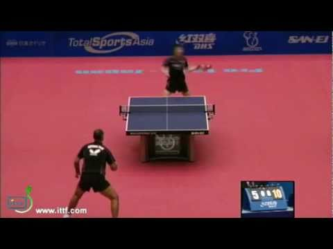 Jun Mizutani vs Petr Korbel[Japan Open 2011]