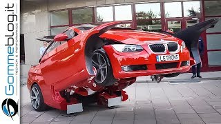 How To Transform a BMW Car in a Real ROBOT Transformer - BEST 2018 HOW IT'S MADE - Top 10