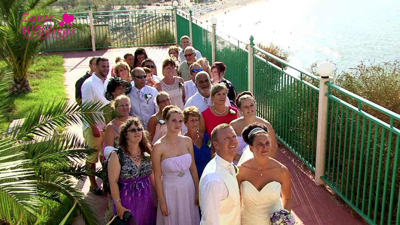 Lisa michael balcony wedding zante weddings by tsilivi for The balcony zante