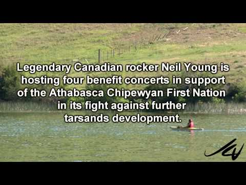Neil Young takes a positive stand - back's fight against oilsands with benefit -  YouTube