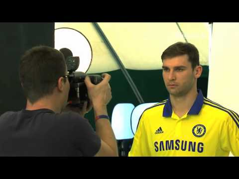 Chelsea FC 2014-15 Away Kit Launch