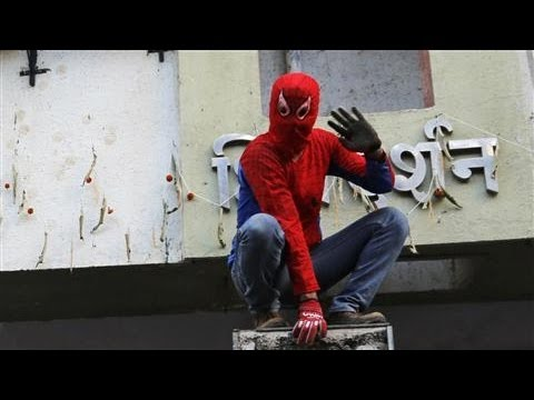'Spider-Man' Runs for Parliament in India Election