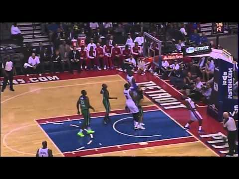 Josh Smith & Brandon Jennings impress in first Pistons action