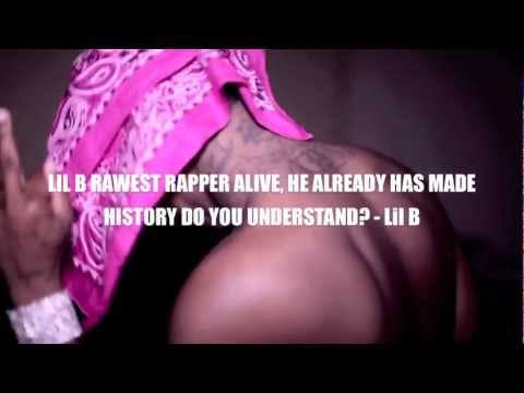 Lil B - Deez Bit*hes BASED FREESTYLE *MUSIC VIDEO* DESTROYS RICK ROSS HOLD ME BACK! SORRY ROSS