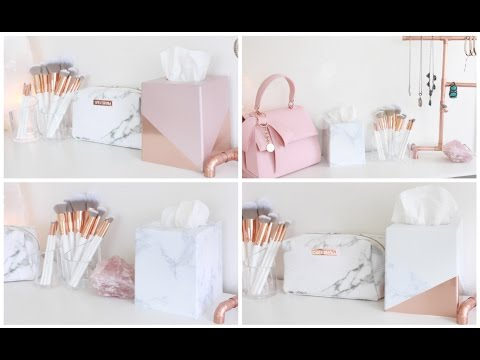 DIY Room Decor | Decorative Tissue Boxes