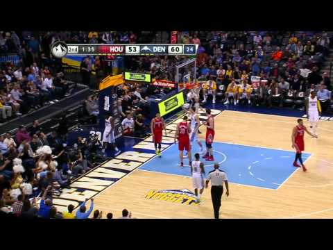[HD] Rockets vs. Nuggets Game Recap 火箭 vs. 金塊 比賽精華 Apr.10,2014