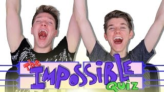 The IMPOSSIBLE QUIZ Challenge (Fail) Sibling Tag   Collins Key vs Devan Key