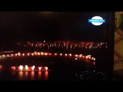 Dubai New Year's Eve World Record Fireworks 2014 HD