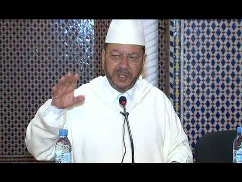 الشيخ مصطفى بنحمزة الأمة ترقى بالعلم والتعلم