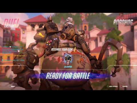 Man vs Team/Overwatch gameplay