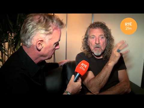Robert Plant chats with Dave Fanning - Electric Picnic 2013