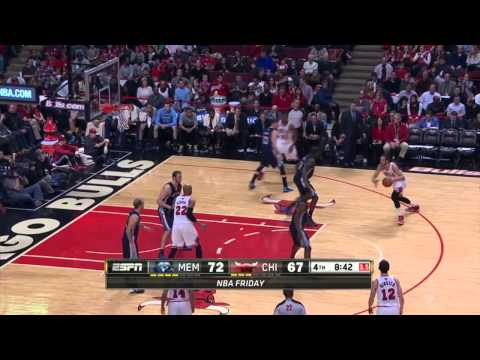 Memphis Grizzlies vs Chicago Bulls | March 7, 2014 | NBA 2013-14 Season