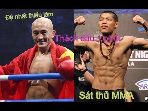 Sát thủ làng MMA xuất hiện, thách Đệ nhất Thiếu Lâm trụ nổi 1 phút