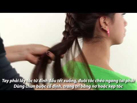 Kieu Toc DEP - Hướng dẫn tết 3 (kiểu tóc đẹp) Kute - Daycattoc.com.vn