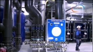 Traitement d'eau et d'air à la piscine de Crépy en Valois