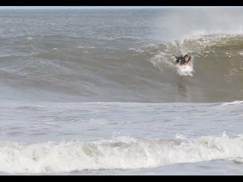 Surfing Hurricane Arthur