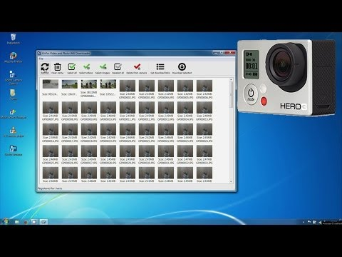 GoPro Hero Wifi/WLAN Browser App for Windows XP, 7 and 8