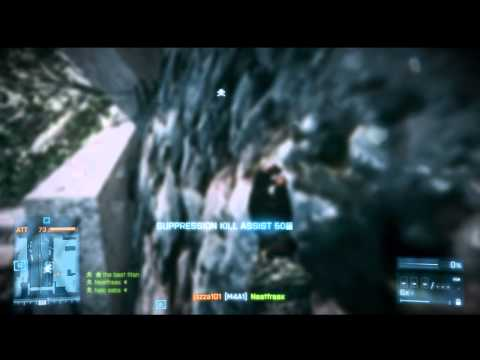 Battlefield 3 (360) - Multiplayer Gameplay #1 - Rush: Grand Bazaar (26-20, Won)