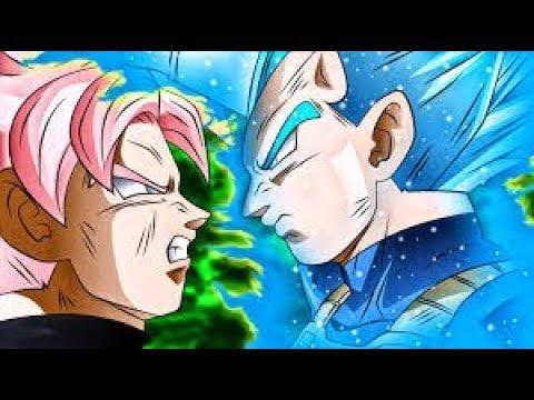 Dragon Ball Heroes Mugen - Vegeta vs Goku Black