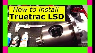 How To Install A Detroit Locker Truetrac Limited Slip