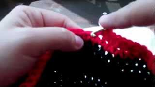 Tutorial How To Crochet Mickey Mouse Beanie (Part 3)