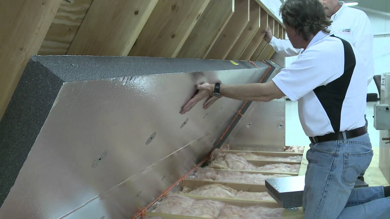 Installing A Radiant Barrier In The Attic Alternative