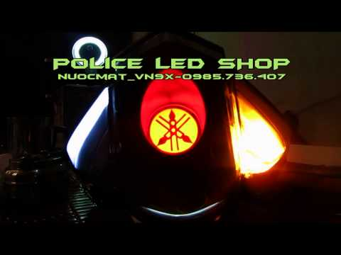 Exciter 2011, 2012: Audi 2012 vs LED Stop Logo Yamaha