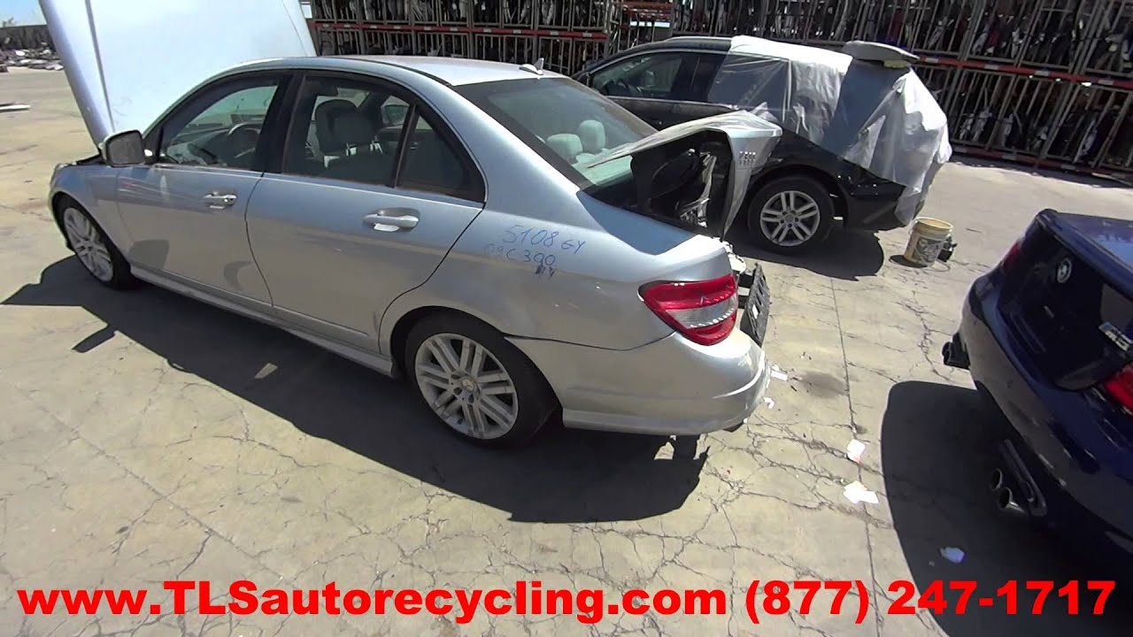 Parting Out 2009 Mercedes C300 Stock 5108gy Tls Auto Recycling Fuse Box Location