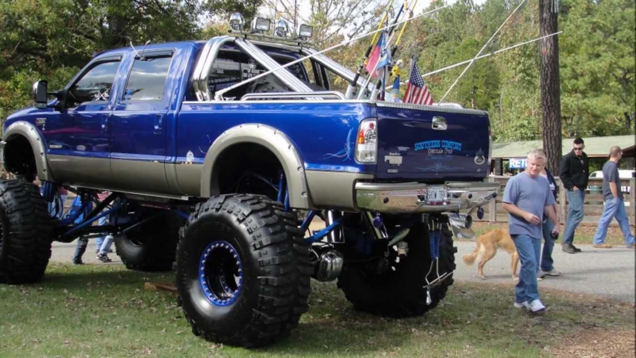 Custom Ford F250 SuperDuty Monster truck - YouTube