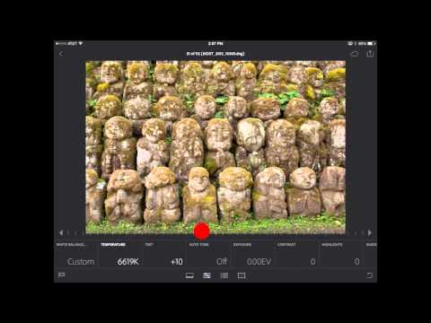 Lightroom mobile: Cropping, Adjustments and Presets