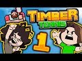 Timber Tennis: Tennis Gods - PART 1 - Game Grumps VS