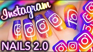 Instagram UPDATE 2.0 Nail Art! And I improved it